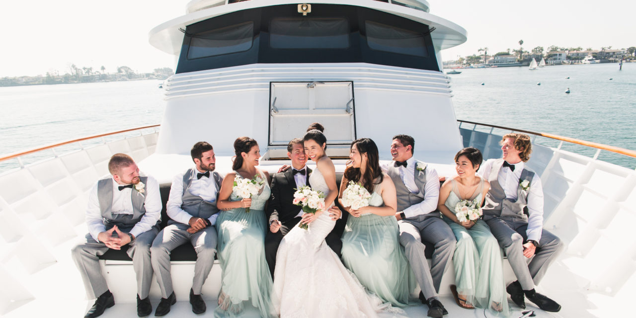 Rent your luxury private yacht to Bahamas and the Caribbean weddings